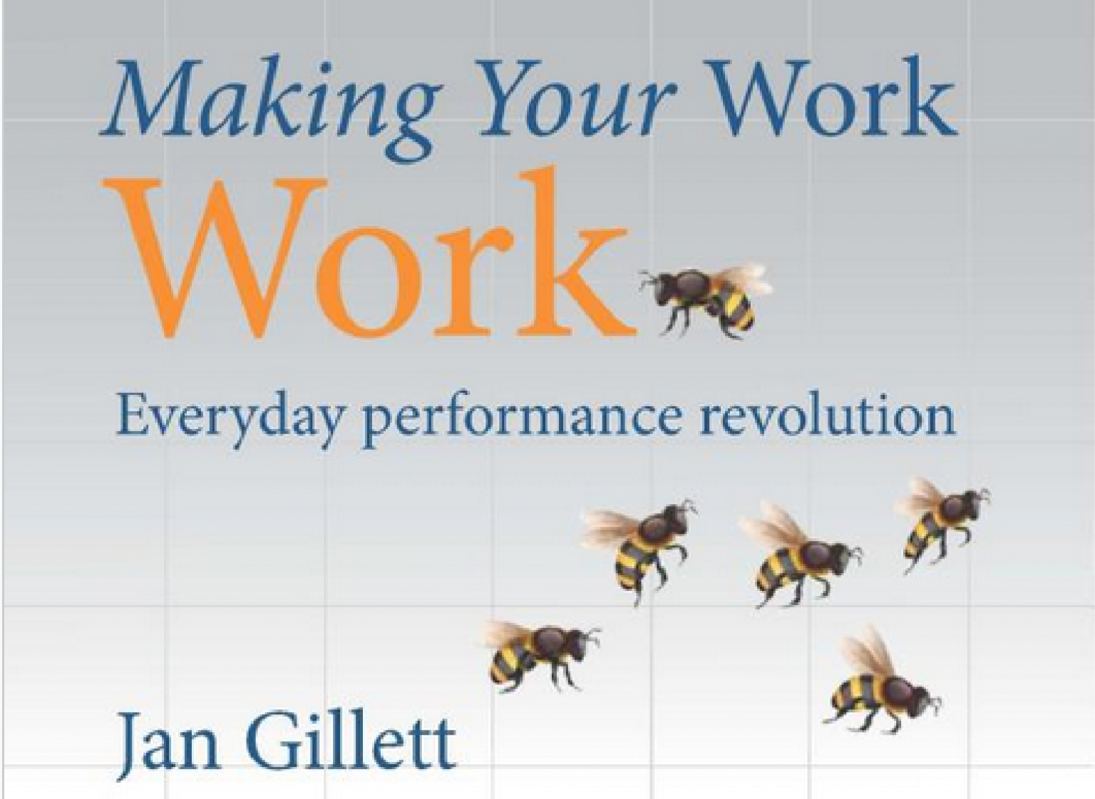 Jan Gillet talks about his book: 'Making Your Work, Work'