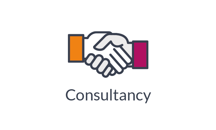 Performance Improvement through Consultancy Handshake Icon