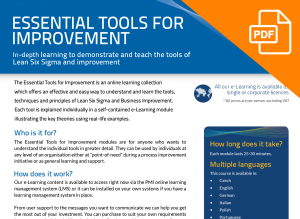 FLYER: Essential Tools for Improvement