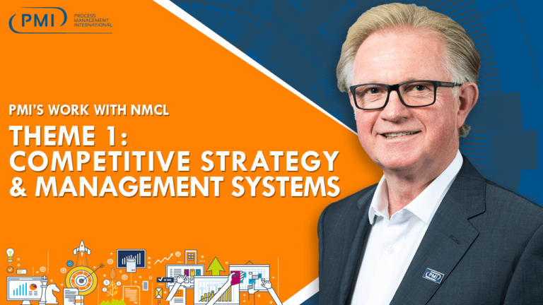 PMI's Work with NMCL – Theme 1: Competitive Strategy & Management Systems