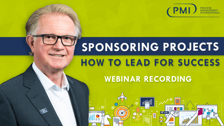 Sponsoring Projects – How to Lead for Success: a recording of our webinar