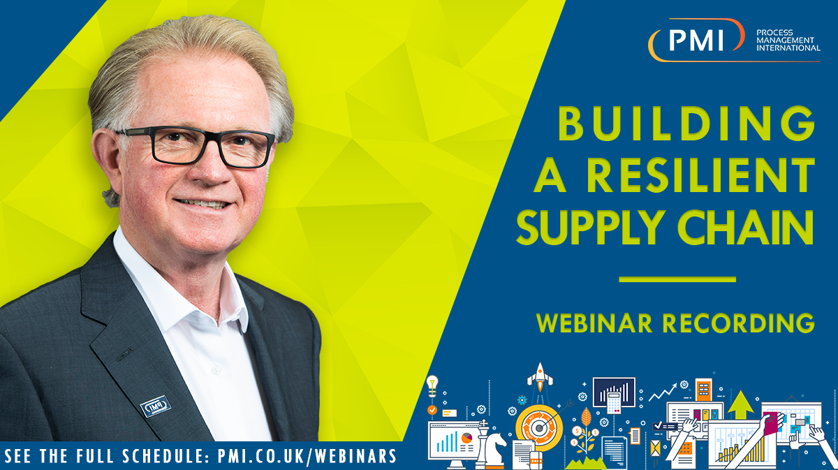 Building a Resilient Supply Chain: a recording of our webinar