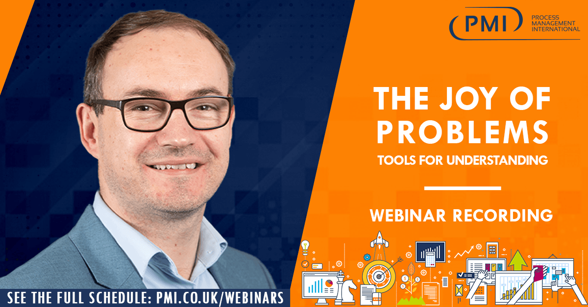 The Joy of Problems: a recording of our webinar