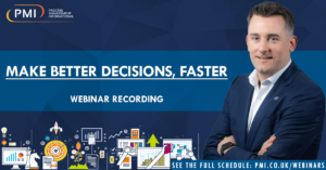Make Better Decisions, Faster: a recording of our webinar