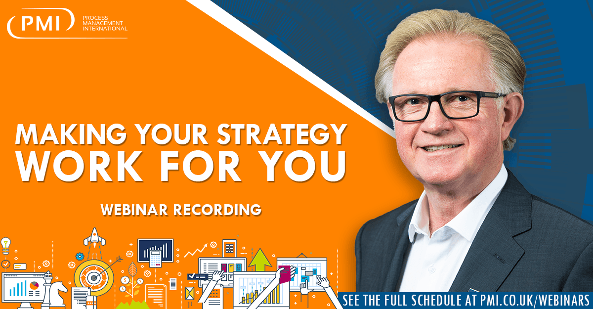 Making Your Strategy Work For You: a recording of our webinar