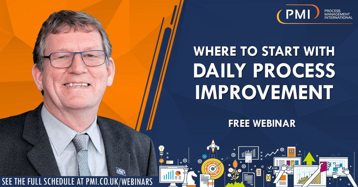 Where To Start With Daily Process Improvement: a recording of our webinar