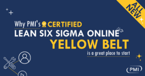 Why PMI's Certified Lean Six Sigma Online Yellow Belt is a Great Place to Start with Improvement