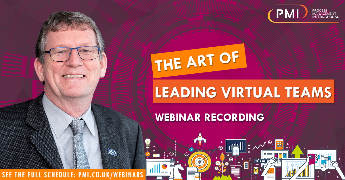 The Art of Leading Virtual Teams : a recording of our webinar
