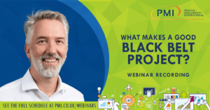 What Makes A Good Black Belt Project? A recording of our webinar