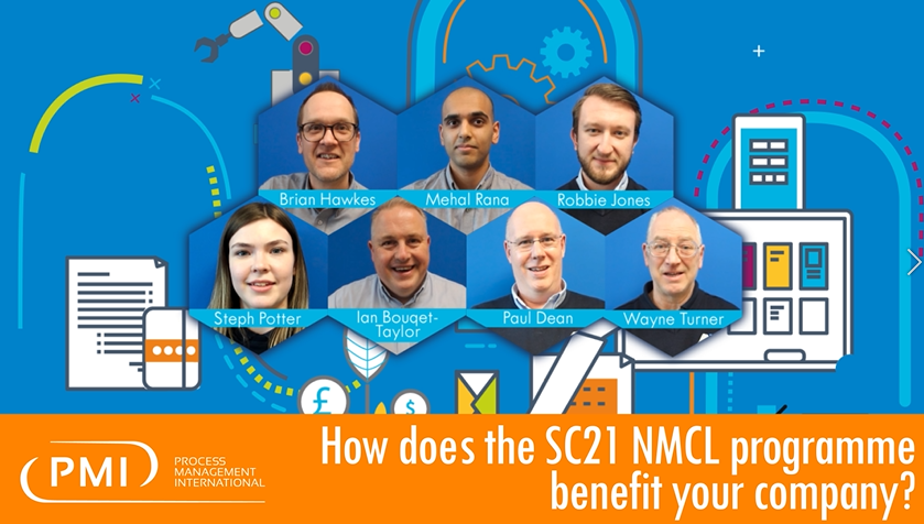 How does the SC21 NMCL programme benefit your company?