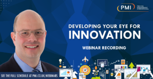 Developing Your Eye For Innovation: a recording of our webinar