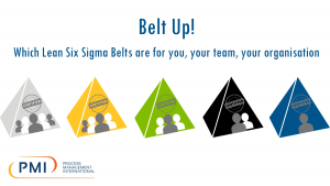 Belt up!  Which Lean Six Sigma Belts are for you, your team, your organisation