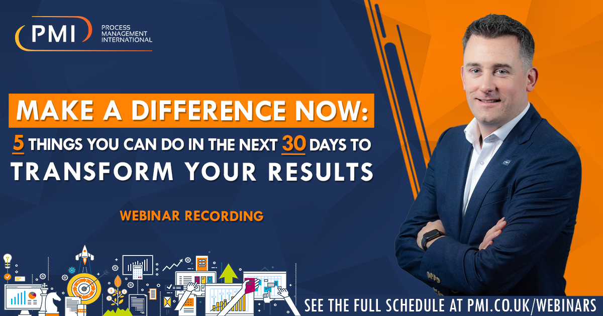 Make a Difference Now: a recording of our webinar