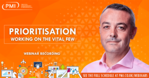 Prioritisation – Working on the Vital Few : a recording of our webinar