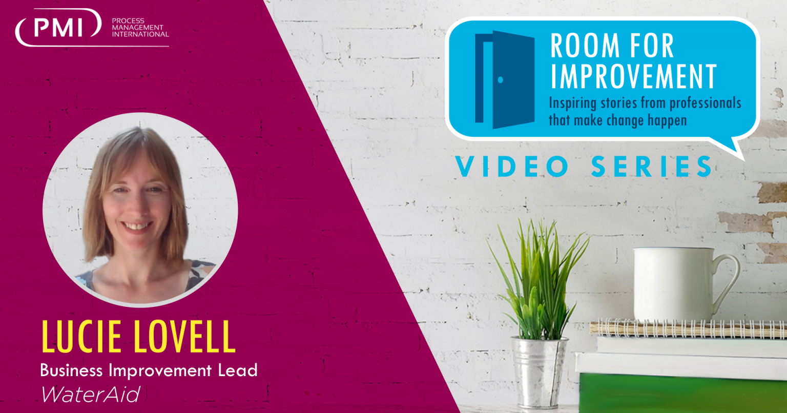 Room for Improvement – Episode #2: Lucie Lovell, WaterAid