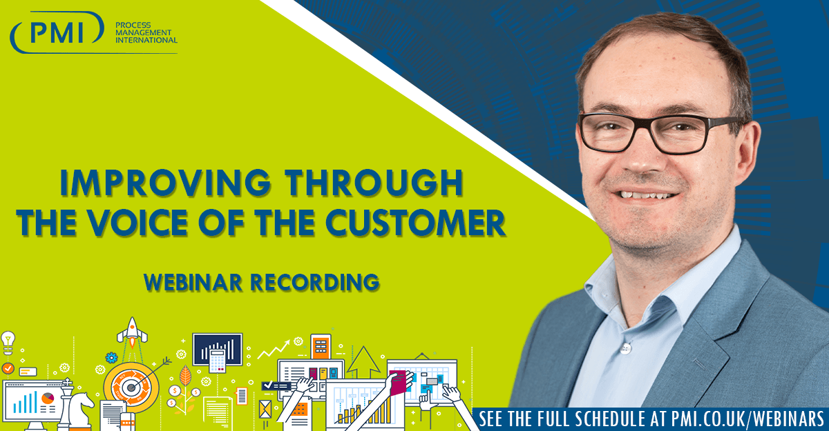 Improving Through the Voice of the Customer: a recording of our webinar